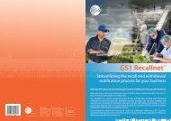GS1 Recallnet Brochure - GS1 Australia