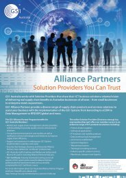 Alliance Partners - GS1 Australia