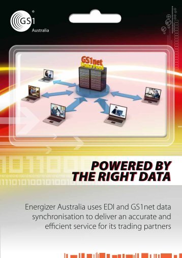 Download Energizer case study - GS1 Australia