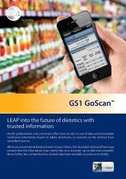 GS1 GoScan™ - GS1 Australia