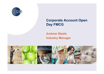 Corporate Account Open Day FMCG - GS1 Australia