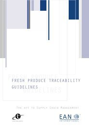 Fresh Produce Traceability Guidelines - GS1 Canada