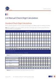 2.4 Manual Check Digit Calculation - GS1 Australia