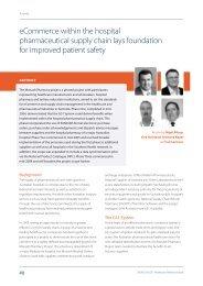 eCommerce within the hospital pharmaceutical ... - GS1 Australia