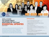 GS1net Essential Updates... - GS1 Australia