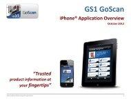 GS1 GoScan - GS1 Australia