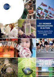 GS1 MeMber OrGaniSatiOnS in actiOn