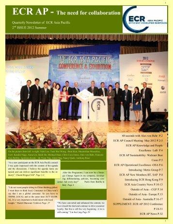 ECR AP - GS1 Hong Kong SCM Excellence Summit 2012