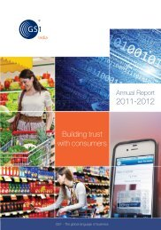 Annual Report 2011-12 - GS1 India