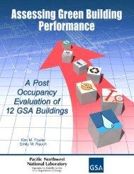 Assessing Green Building Performance - GSA