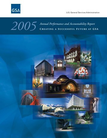 2005 Annual Performance and Accountability Report - GSA