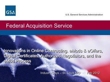 Digital Certifications - GSA