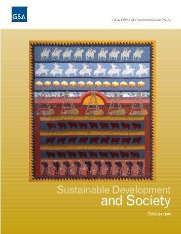 Sustainable Development and Society - GSA