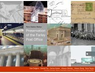 Preservation of the Farley Post Office - Columbia University ...
