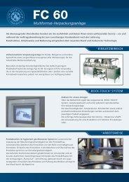 Multiformat-Verpackungsanlage - CHR. BOCK & SOHN
