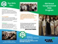 Congressional Aide brochure v3bnh vnw.pub - Girl Scout Council of ...