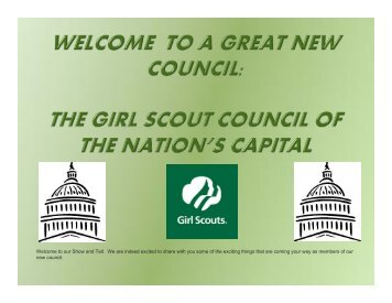 GSCNC PowerPoint Presentation as a PDF - Girl Scout Council of ...