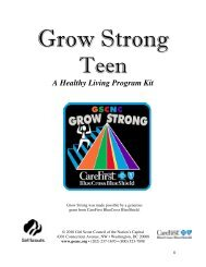GrowStrong Final WEB VERSION2010 - Girl Scout Council of the ...