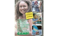 Camp Brochure - Girl Scouts of Central and Western Massachusetts
