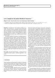 Low Complexity Byzantine-Resilient Consensus - Distributed ...