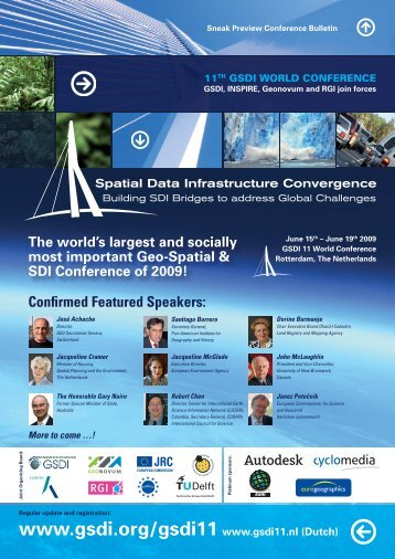 GSDI 11 World Conference - Global Spatial Data Infrastructure ...