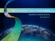 GIS - Global Spatial Data Infrastructure Association