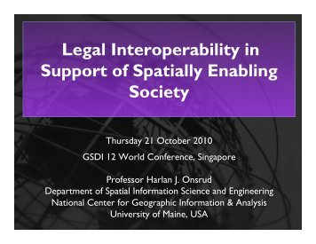 Legal Interoperability