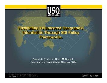 SDI - Global Spatial Data Infrastructure Association
