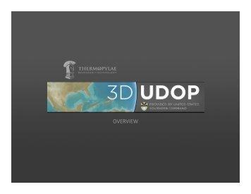 3D UDOP