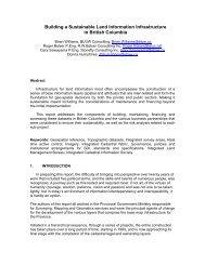 paper - Global Spatial Data Infrastructure Association