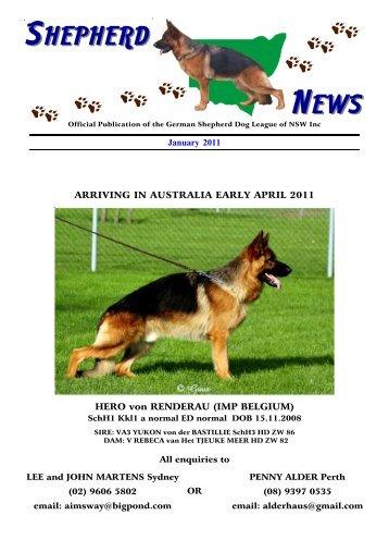 Shepherd News 2 - German Shepherd Dog League NSW Inc.
