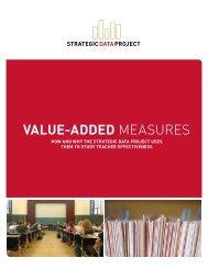 VALUE-ADDED measures - Harvard Graduate School of Education ...