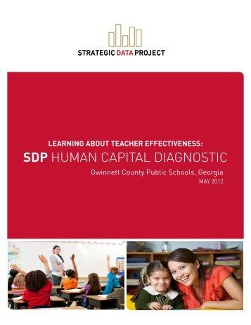 SDP HUMAN CAPITAL DIAGNOSTIC - Harvard Graduate School of ...