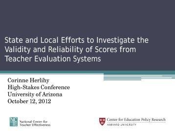 Presentation slides - Harvard Graduate School of Education