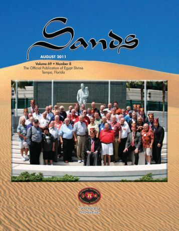 Sands • August 2011 • 1 - Egypt Shriners