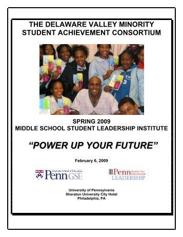 power up your future - Penn GSE - University of Pennsylvania