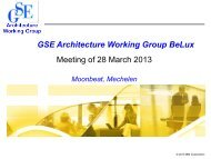 GSE_Arch_20130328 ESB Intro.pdf - GSE Belux