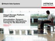 Virtual Storage Platform (VSP) Update Virtualization ... - GSE Belux