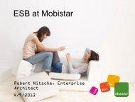 GSE_Arch_20110617 ESB at Mobistar.pdf - GSE Belux