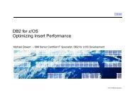 Optimizing SQL Insert Performance - GSE Belux