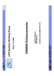 DS 8000 Enhancements - GSE Belux