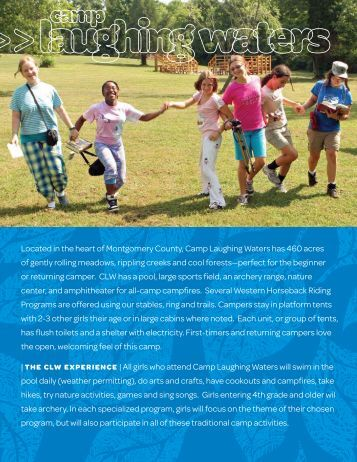 Resident Camps - Girl Scouts of Eastern Pennsylvania