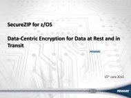 2012_06_15 SecureZIP zOS.pdf - GSE Belux