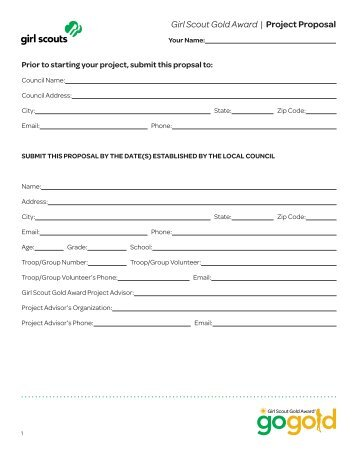 girl scout gold award gold award project hours log