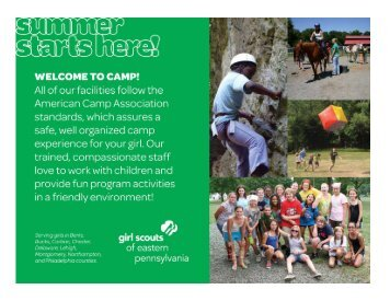 Michele Bement - Girl Scouts of Eastern Pennsylvania