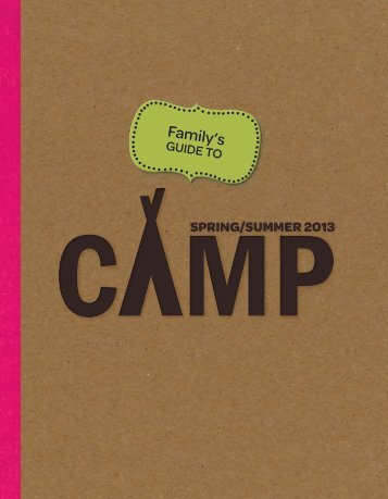 Camp Guide - Girl Scouts of Eastern Pennsylvania