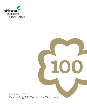 Annual Report - Girl Scouts of Eastern Pennsylvania