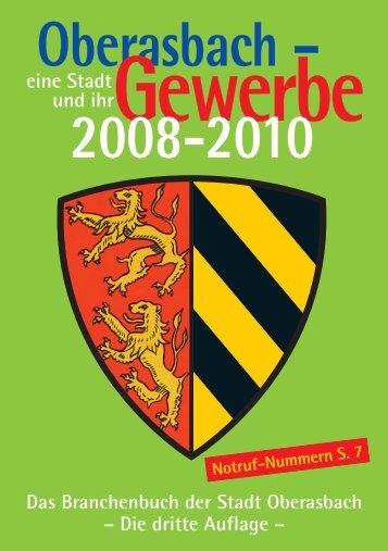 Oberasbacher Gewerbe. - PRO PUBLIC Grafik & Kommunikation ...