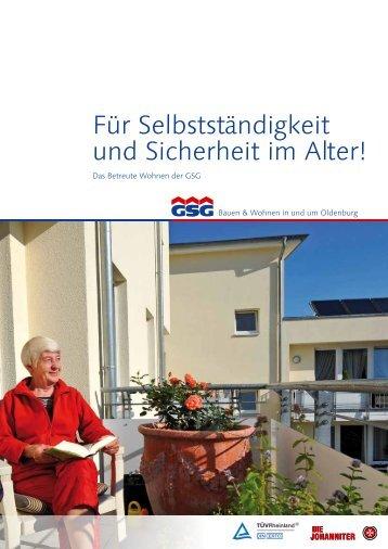 weitere Informationen zum Betreuten Wohnen ... - GSG Oldenburg