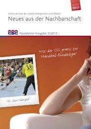 Newsletter 3-2012 - GSG Oldenburg